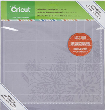 "2 Pack Cricut Cutting Mats BARGAIN PRICE 12/"" X 12/"" Standard Grip Cutting Mat"